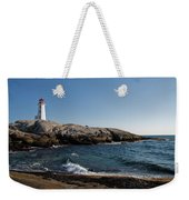 Peggy's Cove Light Weekender Tote Bag