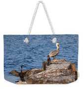 Pelican And Cormorants Weekender Tote Bag
