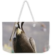 Pelican Visiting City Marina Weekender Tote Bag