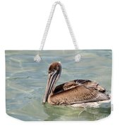 Pelican Waiting For A Catch Weekender Tote Bag