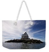 Penfield Reef Lighthouse Weekender Tote Bag