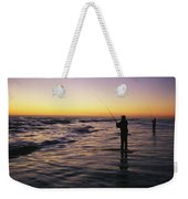 People Are Surf Fishing For Red Drum Weekender Tote Bag