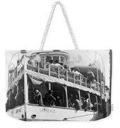 People Fleeing Galveston After Flood - September 1900 Weekender Tote Bag