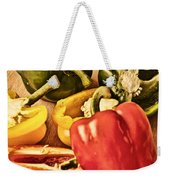 Peppered 4 Weekender Tote Bag