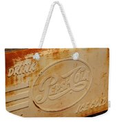 Pepsi Cola Remembered Weekender Tote Bag