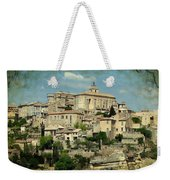 Perched Village Of Gordes Weekender Tote Bag