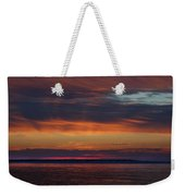 Perdido Pass Red Sunrise Weekender Tote Bag