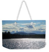 Perfect Day On The Lake Weekender Tote Bag