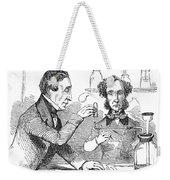 Performing The Marsh Test, 1856 Weekender Tote Bag by Science Source