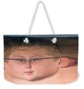 Peripheral Streak Image Weekender Tote Bag