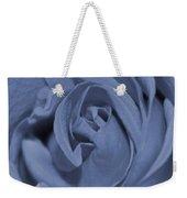 Periwinkle Rose Weekender Tote Bag