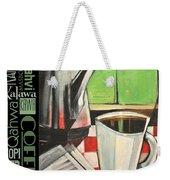 Perk Coffee Languages Poster Weekender Tote Bag