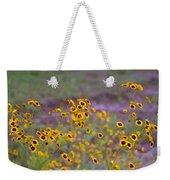 Perky Golden Coreopsis Wildflowers Weekender Tote Bag