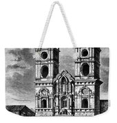 Peru: Jesuit Church, 1869 Weekender Tote Bag