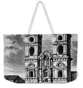 Peru: Jesuit Church, 1869 Weekender Tote Bag