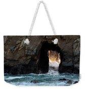 Pfeiffer Rock Big Sur Weekender Tote Bag by Bob Christopher