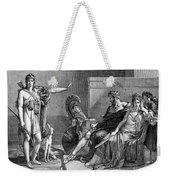 Phaedra And Hippolytus Weekender Tote Bag