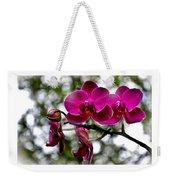 Phalaenopsis Weekender Tote Bag