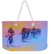 Philadelphia Bike Race Weekender Tote Bag