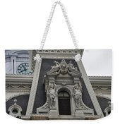 Philadelphia City Hall Window Weekender Tote Bag