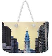 Philadelphia Cityhall At Dawn Weekender Tote Bag