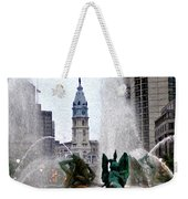 Philadelphia Fountain Weekender Tote Bag