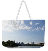 Philadelphia From Kelly Drive Weekender Tote Bag