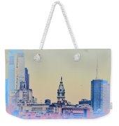Philadelphia From South Camden Weekender Tote Bag
