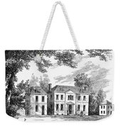 Philadelphia: Mansion Weekender Tote Bag