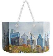 Philadelphia Skyline - Mirror Box Weekender Tote Bag