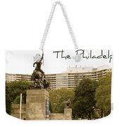 Philadelphian View From Museum Weekender Tote Bag