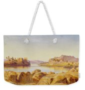 Philae - Egypt Weekender Tote Bag by Edward Lear
