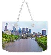 Philly By Water Weekender Tote Bag