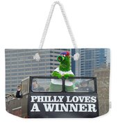 Philly Loves A Winner Weekender Tote Bag