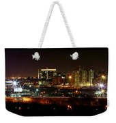 Philly Night Panoramic Weekender Tote Bag