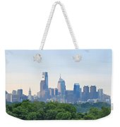 Philly Skyline Weekender Tote Bag