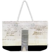 Philosophical Society Weekender Tote Bag