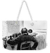 Phonograph, C1878 Weekender Tote Bag