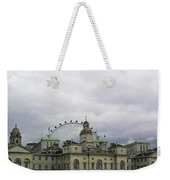 Photo Of London With London Eye In The Background Weekender Tote Bag