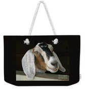 Photogenic Goat Weekender Tote Bag