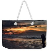 Photographing Sunsets Weekender Tote Bag