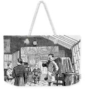 Photography Studio, 1876 Weekender Tote Bag by Granger