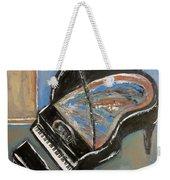 Piano With Spiky Heel Weekender Tote Bag
