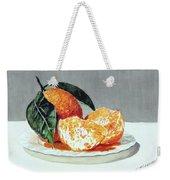 Piatto Con Arance Weekender Tote Bag