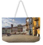 Piazza Grande - Locarno Weekender Tote Bag