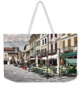 Piazza San Guilio Weekender Tote Bag