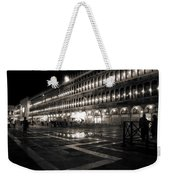 Piazza San Marco At Night Venice Weekender Tote Bag