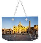 Piazza San Pietro Weekender Tote Bag