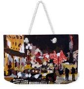 Piccadilly Night Weekender Tote Bag