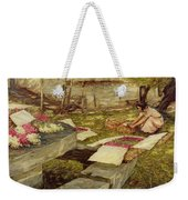 Picking Stocks Weekender Tote Bag